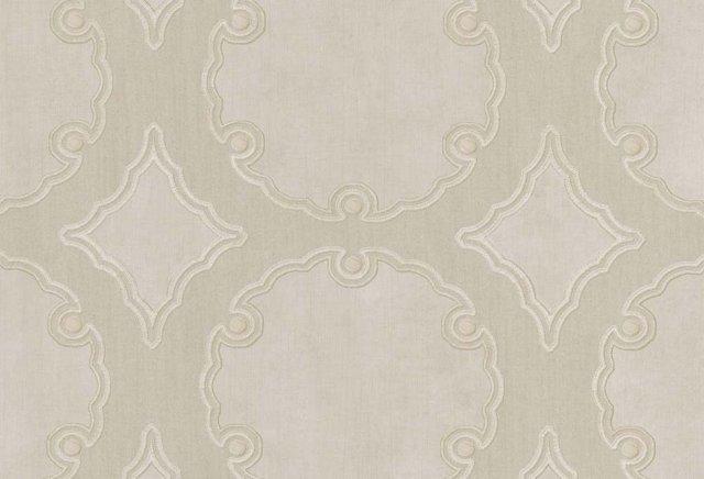 Cartouche, Natural Linen
