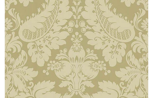 Modern Damask, Neutral Taupe