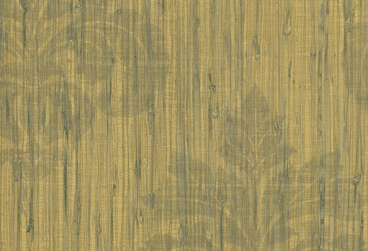 Rustic Chic Grasscloth Damask, Wood