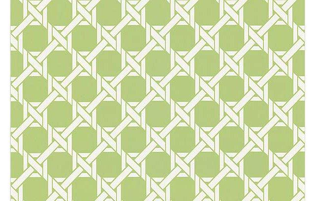 Lattice Wallpaper, Grass