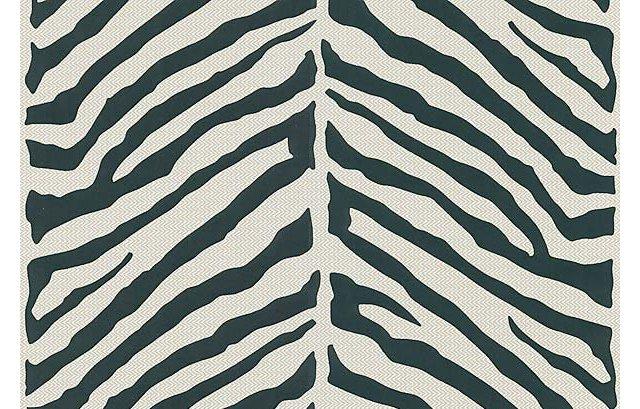 Tailored Zebra, Black/White