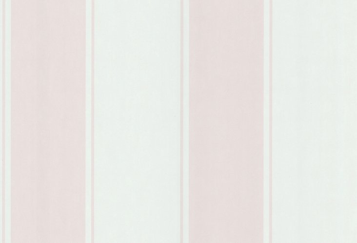 Blair Stripe Wallpaper, Blush
