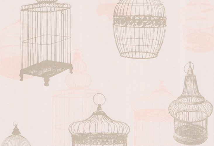 Avian Birdcages, Taupe