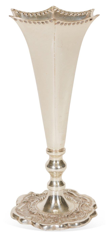 Silverplate Vase