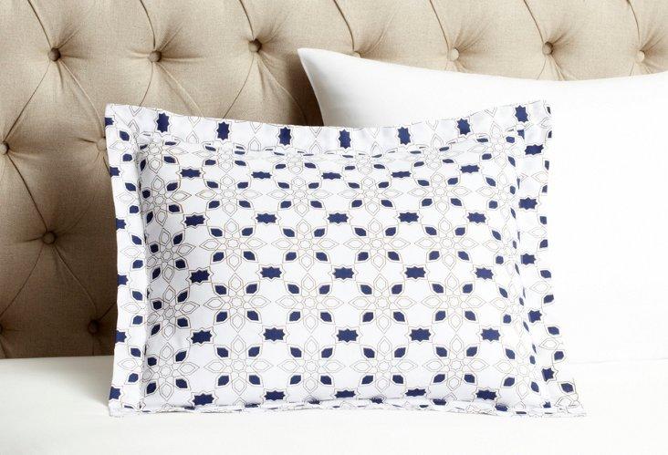 Taj Mela 16x20 Pillow Cover, Indigo
