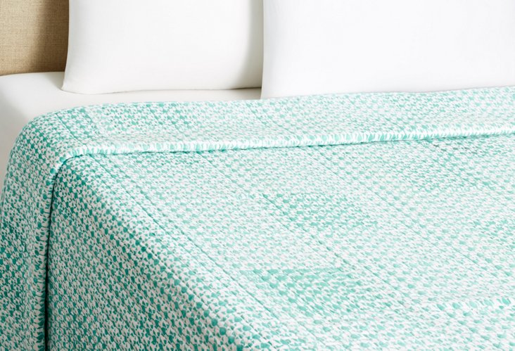 Camel Quilt, Turquoise