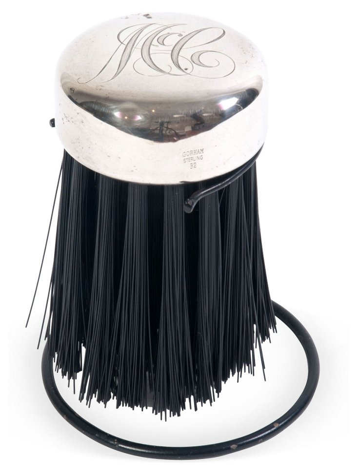 Monogramed Clothes Brush
