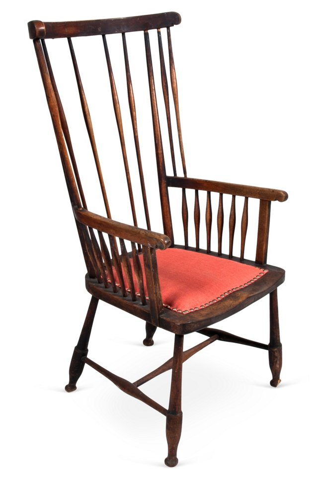 Early Windsor-Back Side Chair