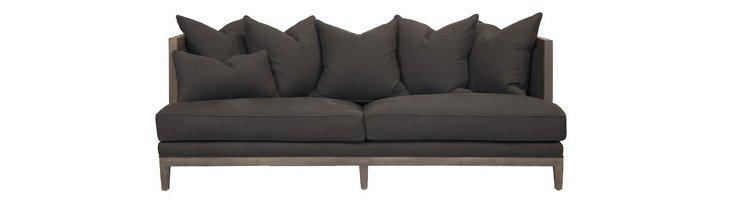 Huck Sofa, Charcoal