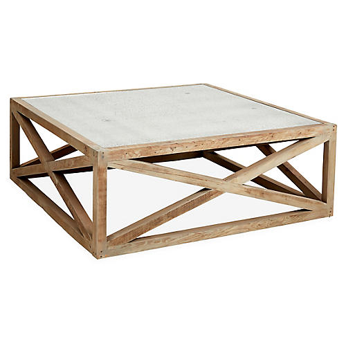 """Manning 30"""" Coffee Table, Natural"""