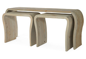 Hughes Console Nesting Tables, Set of 3