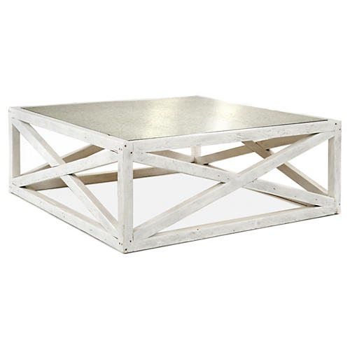 Manning Coffee Table, White