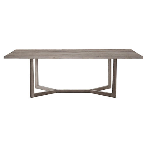 Ranson Dining Table, Graywash