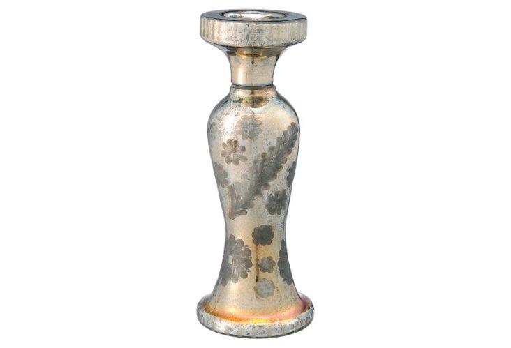 Ombré Glass Candleholder, Gold