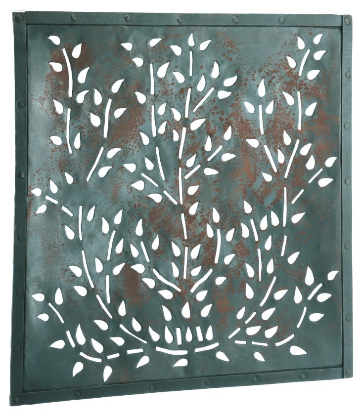 Iron Wall Plaque