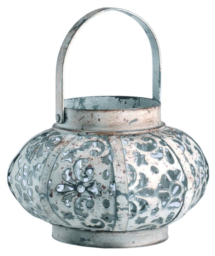 Metal Basket Lantern