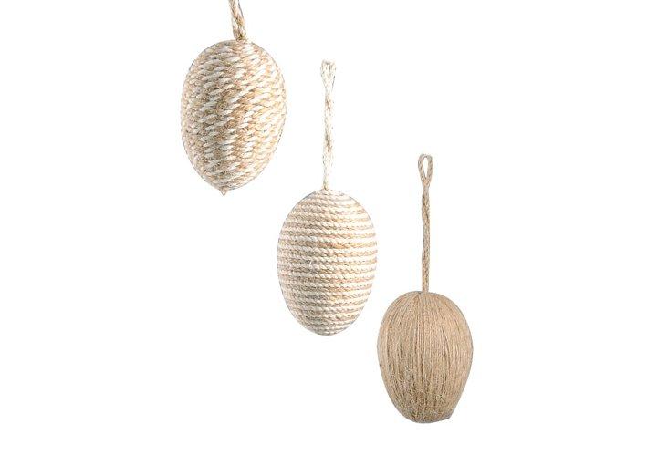 S/3 Egg Ornaments