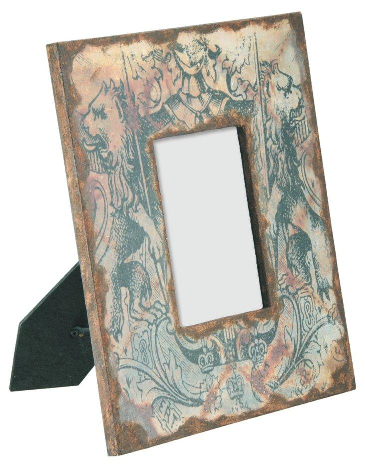 Wood Armorial Frame