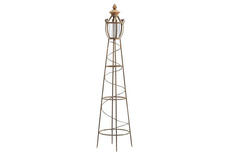 Lighthouse Trellis Candleholder