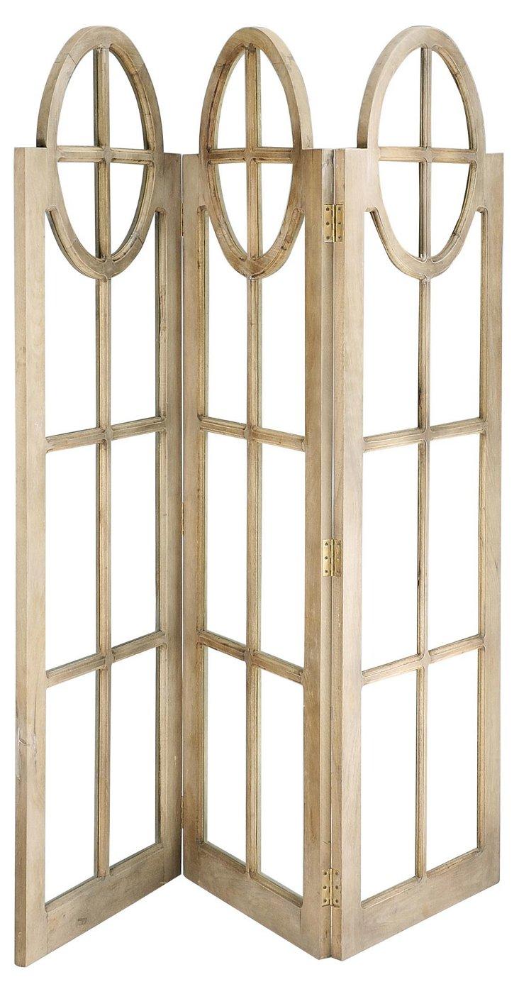 Three-Panel Room Divider