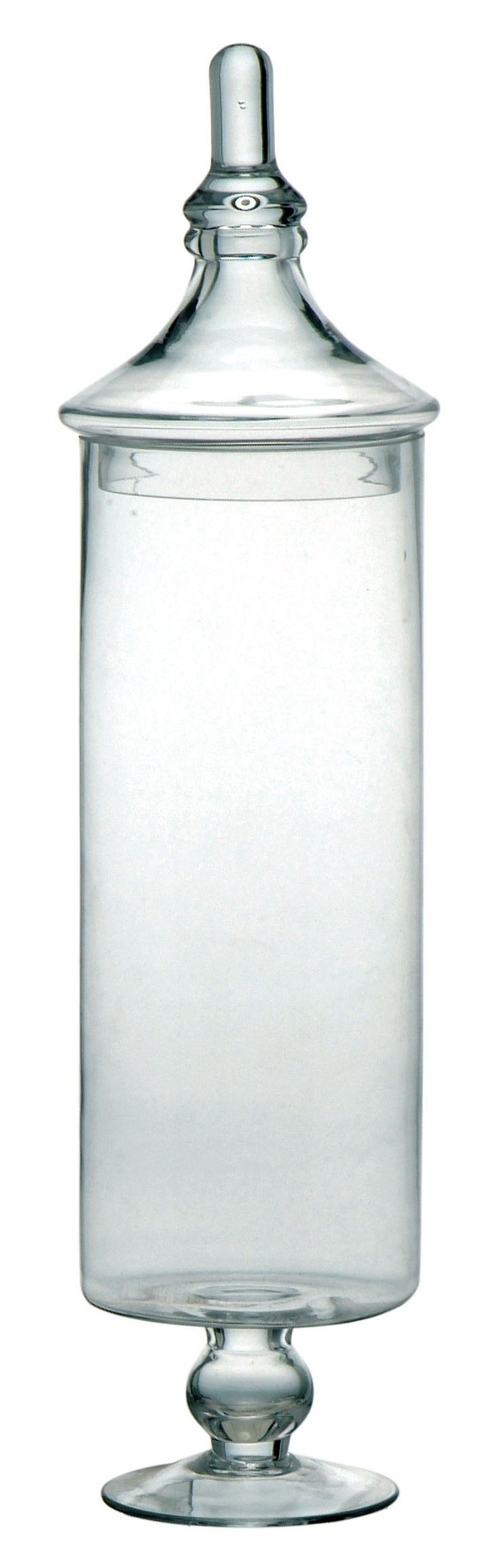 "21"" Slim Glass Canister"