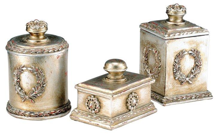 S/3 Laurel Boxes