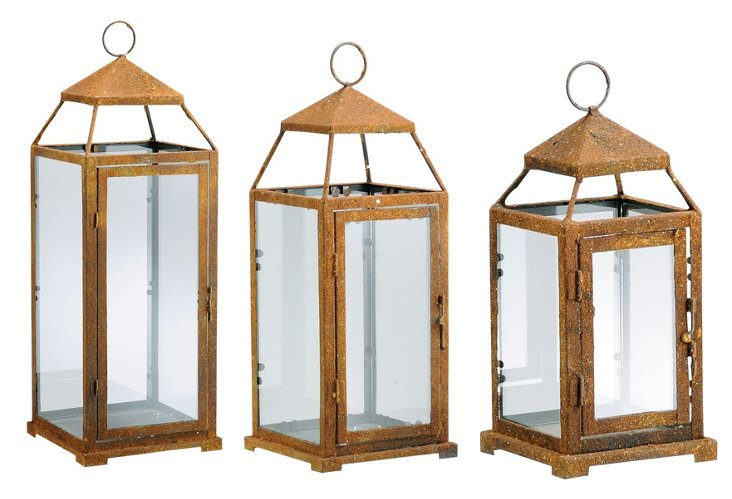 Cupola Lanterns, Asst. of 3