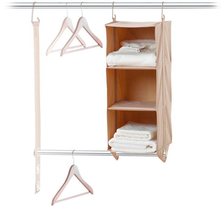 3-Shelf Closet Organizer