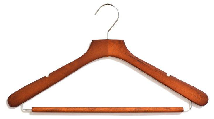 S/6 Wood Suit Hangers