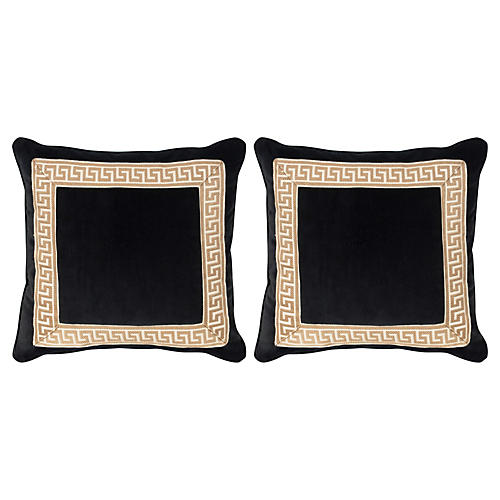 S/2 Robertson 20x20 Pillows, Black