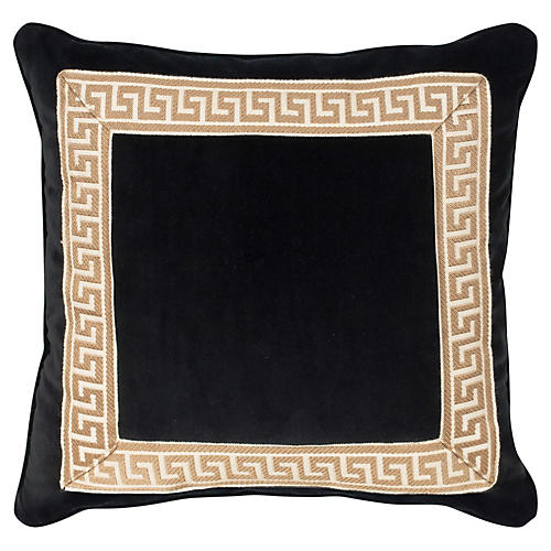 Robertson 20x20 Pillow, Black