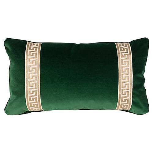 Robertson 12x23 Pillow, Emerald