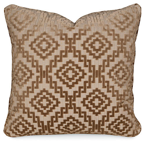 Drake Sable 20x20 Pillow, Tan