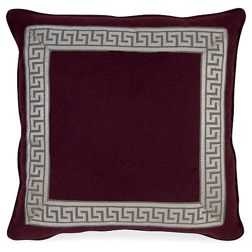 Remix Canne 20x20 Pillow, Purple