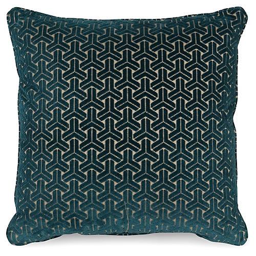Varro 20x20 Pillow, Teal