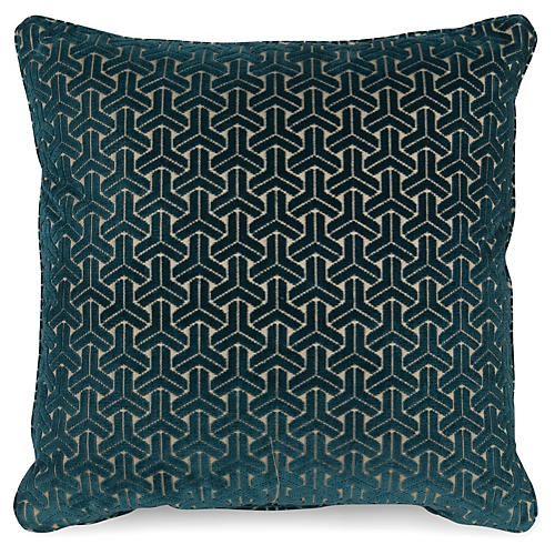 Varro 20x20 Pillow, Teal