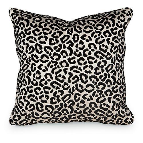 Cheetah Velvet 19.5x19.5 Pillow