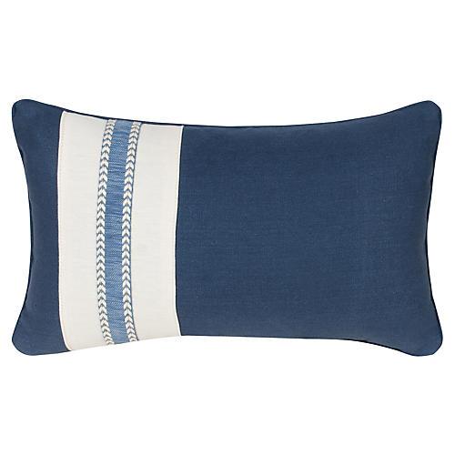 Glynn 12x20 Pillow, Indigo