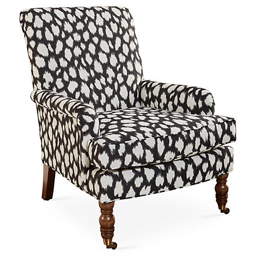 Abigail Chair, Black Spots
