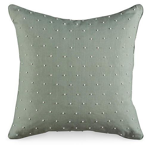 Knot Along 19.5x19.5 Pillow, Dew