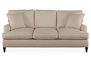 "Brockville 83"" Sofa, Cream*"