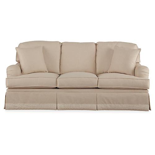 "Winston 86"" Sofa, Natural"
