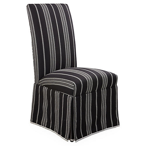 Rachel Side Chair, Onyx