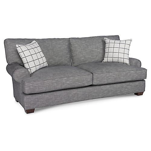 "Benson 86"" Sofa, Graphite"