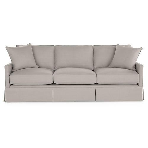 Auburn Sofa, Gray Linen
