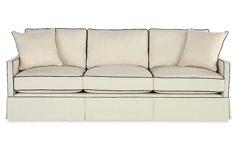 Auburn Sofa, Cream Crypton