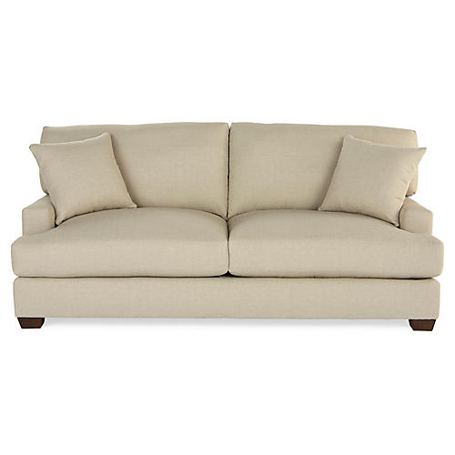 Logan Sofa, Oatmeal Crypton