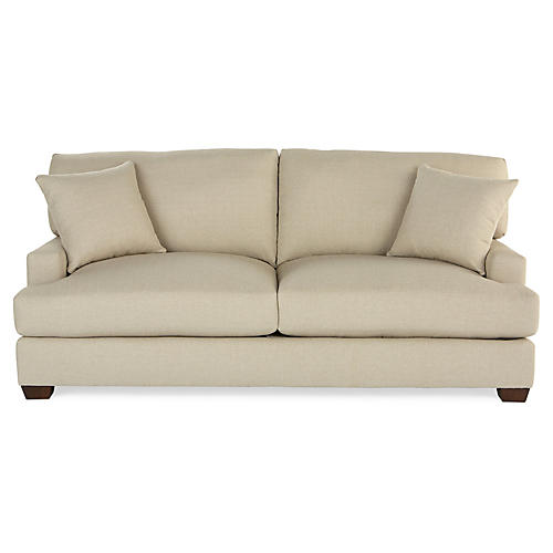 Logan Sleeper Sofa, Natural Crypton