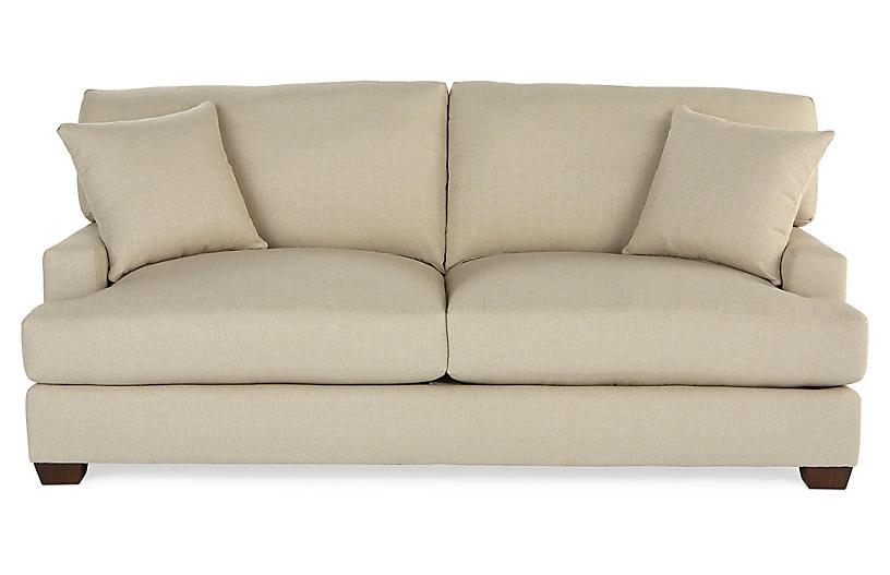 Logan Sleeper Sofa, Natural Crypton