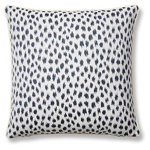 Agra 20x20 Pillow, Indigo Sunbrella